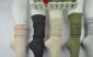 外贸原单 全棉竖条纹 大腿袜 高筒袜 堆堆袜 春秋款